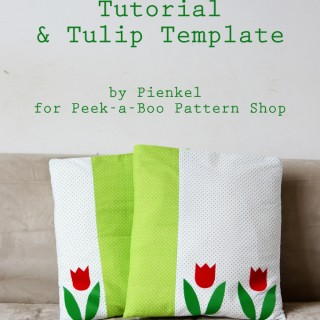 Tulip Spring Pillowcase Tutorialv