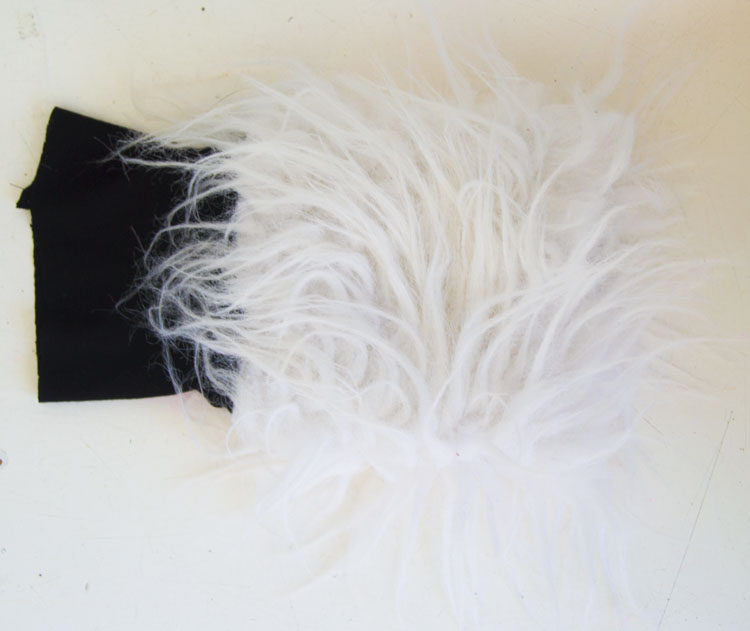 Fur Cuff Tutorial by Pienkel for UpCraft Club