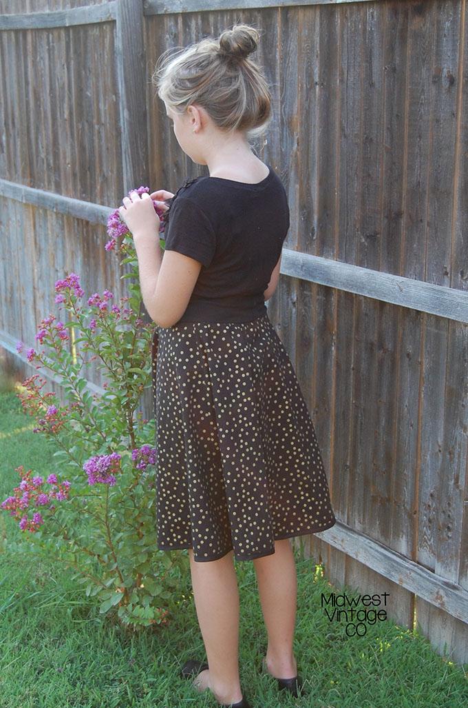 DYYNI skirt   pattern, sz 2y-16y, designed by Pienkel. Sewn by Sibling Revelry. www.pienkel.com