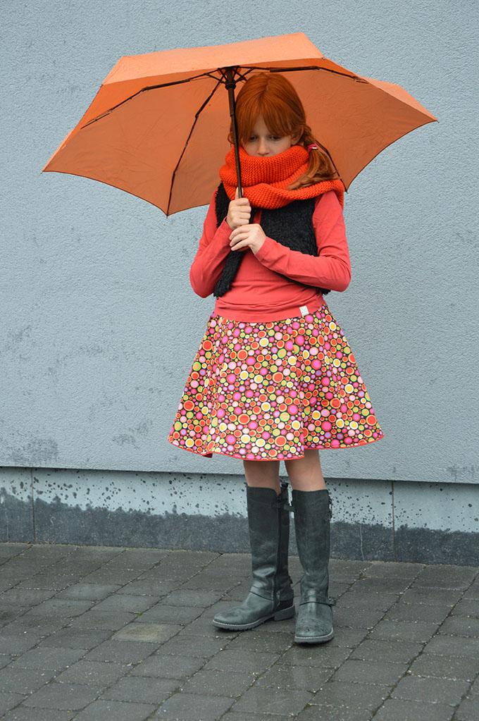 DYYNI skirt   pattern, sz 2y-16y, designed by Pienkel. Sewn by Naadjes&Draadjes. www.pienkel.com