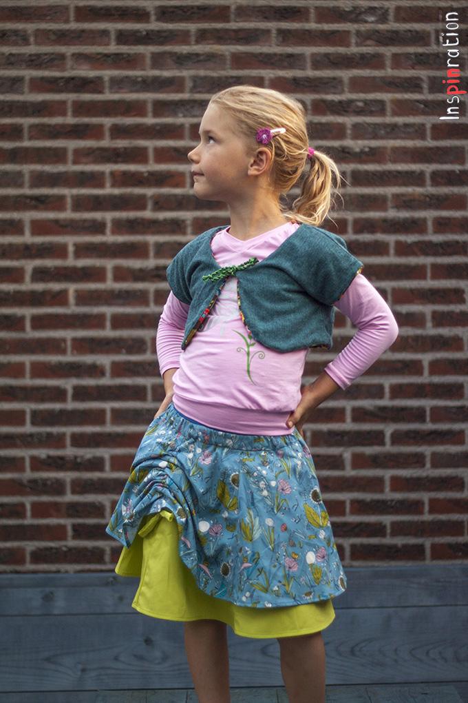 DYYNI skirt   pattern, sz 2y-16y, designed by Pienkel. Sewn by Inspinration. www.pienkel.com