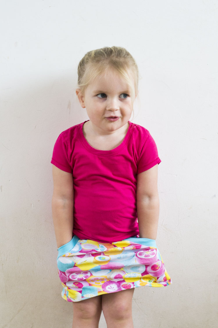 Gemini Skirt - Pattern by Sofilantjes, sewn by Pienkel for UpCraft Club