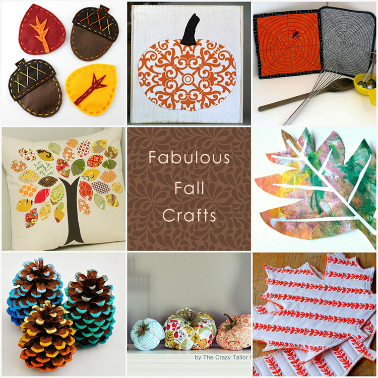 Fabulous Fall Crafts   Roundup - Pienkel for UpCraft Club